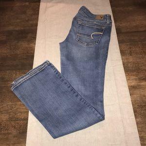 American Eagle Kick Boot Super Stretch Jeans 6